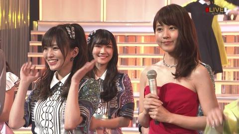 【NMB48】沖田彩華と紅白歌合戦の有村架純がそっくりだと話題に