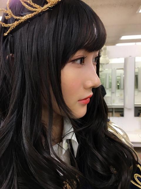 【NMB48】ふぅちゃんの横顔が美しいさかい【矢倉楓子】