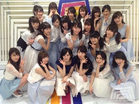 【悲報】MJ選抜が全然AKB48に見えない