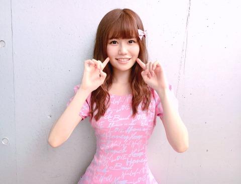 【画像】こみはるのウエスト細すぎ!!!【AKB48・込山榛香】
