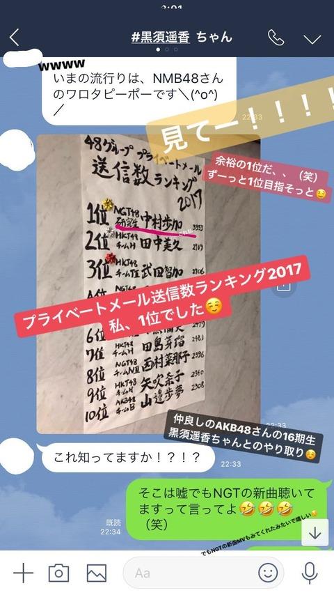 【画像】AKB48劇場にモバメの送信数ランキングが貼り出される