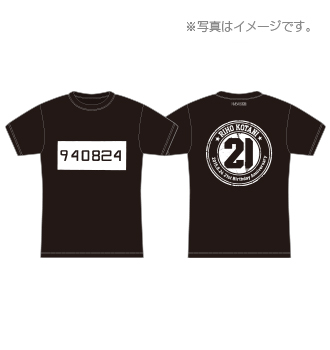 【NMB48】りぽぽの今年の生誕Tシャツがハイセンス【小谷里歩】