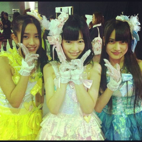 【AKB48】島崎遥香、入山杏奈、加藤玲奈の3人の中で