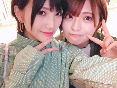 【AKB48】なぁちゃん、長期休養から復帰したチーム8佐藤七海を誘って2人きりで食事へ行く【岡田奈々】