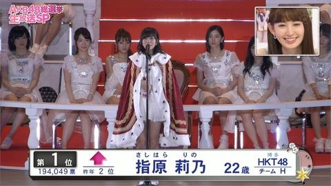 【HKT48】指原莉乃は強すぎてツマランから総選挙辞退すべき