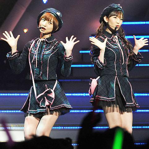 【AKB48】篠田と小嶋が入り口の奴wwwwww