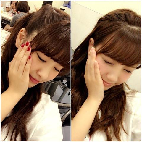 【AKB48】加藤玲奈「ちより(中西智代梨)と似てるって言われる。似てますか?」