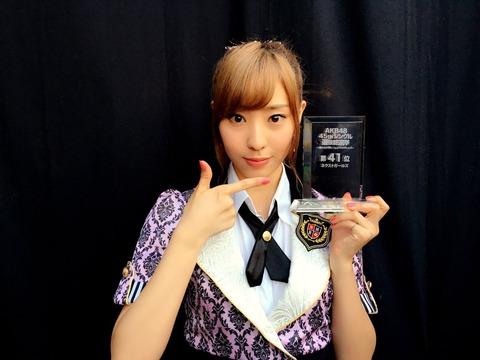 【NMB48】藤江れいなの総選挙での不思議な安定感