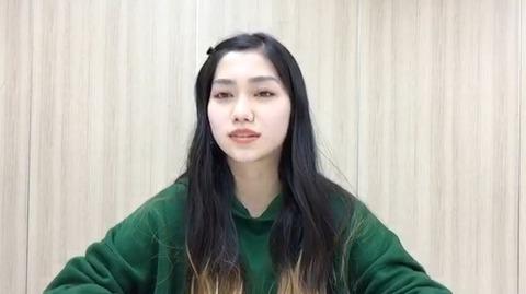 【AKB48】田野優花、SHOWROOMにて卒業発表