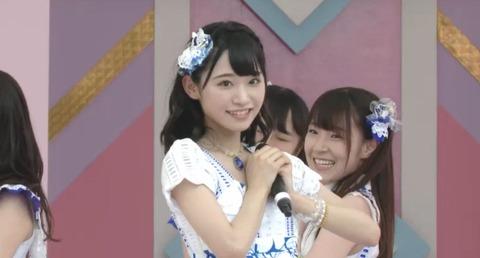 【画像】「あのキラキラ美少女は誰!?」TIFの観客が驚愕【AKB48・山内瑞葵】