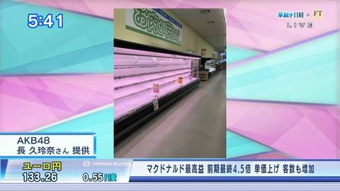 【朗報】チーム8長久玲奈、経済番組に貢献するwww【早起き日経+FT】