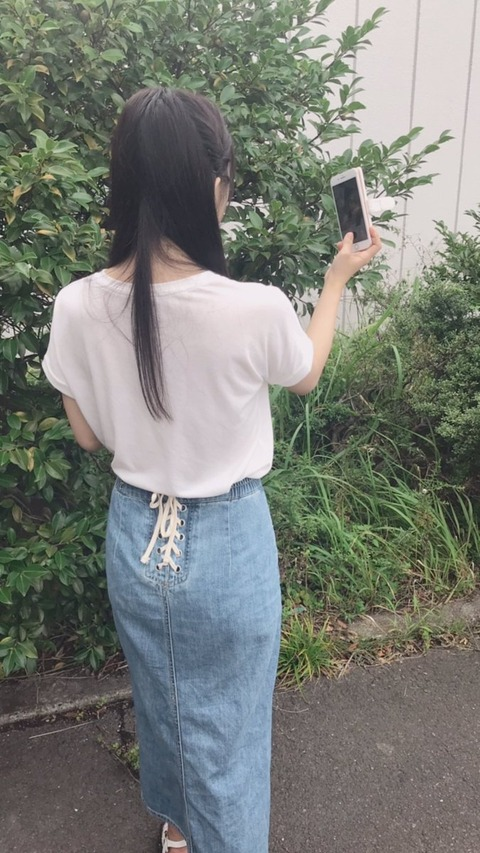 【画像あり】矢作のお尻が盗撮される!!!