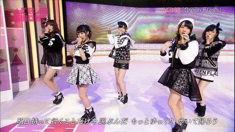 【AKB48】向井地美音と加藤玲奈のアンダーがハマってる【Green Flash】