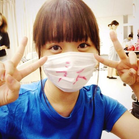 【AKB48】中西智代梨のマスクに「ブス」「かおでかい」←これっていじめなんじゃ・・・