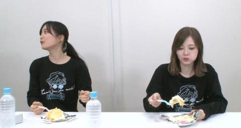 【放送事故】乃木坂46白石麻衣さん、Youtubeでケーキを一口食べて捨てる様子が映り込み炎上www