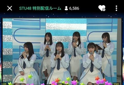 【STU48】薮下楓ちゃん号泣き「STUからファンが離れていくんじゃないかな…」