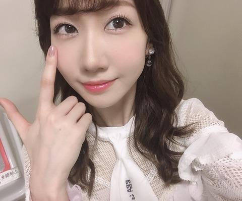【AKB48】柏木由紀さん、すっぴんからメイク完了まで「1時間半かかる」