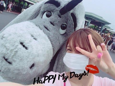 【AKB48】小嶋菜月「1人で夢の国いってきたよ」←ひとりディズニー行ける?
