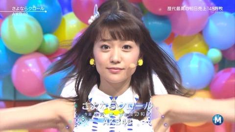 世代交代を進めるなら33rdから大島優子を外すべき