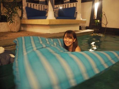 【AKB48】こじまこのナイトプール画像キタ━━━(゚∀゚)━━━!!【小嶋真子】
