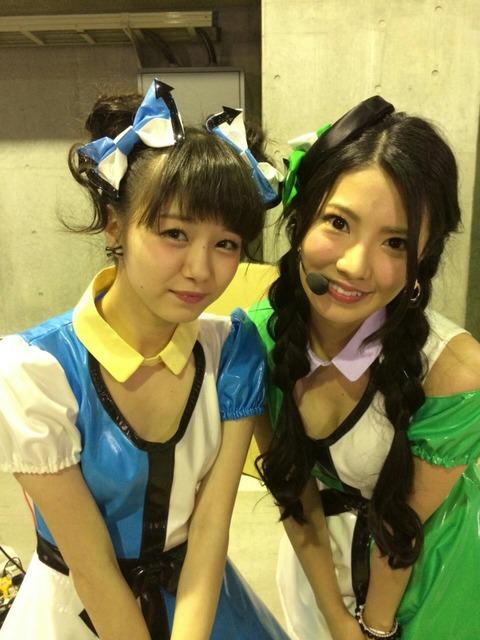 【悲報】NMB48市川美織が寄せて上げて倉持明日香を公開処刑