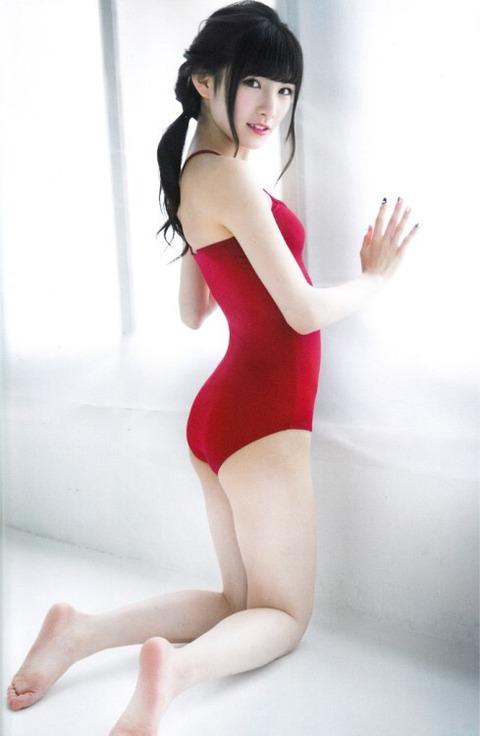 【画像あり】AKB48岡田奈々ちゃんのお尻が白くて美しい件