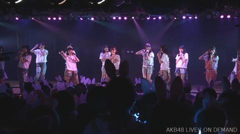 【悲報】AKB48劇場でとんでもない地獄絵図wwwwww