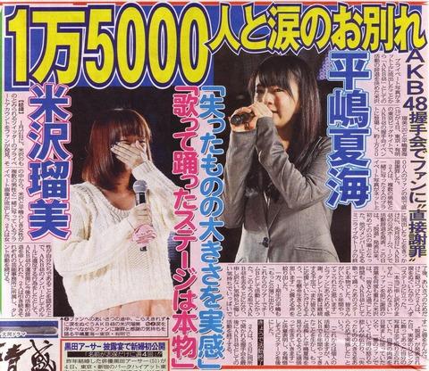 AKB48G史上最悪なスキャンダルといえば