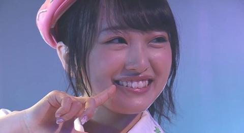 【画像あり】みーおんの顔が丸い!!!【AKB48・向井地美音】