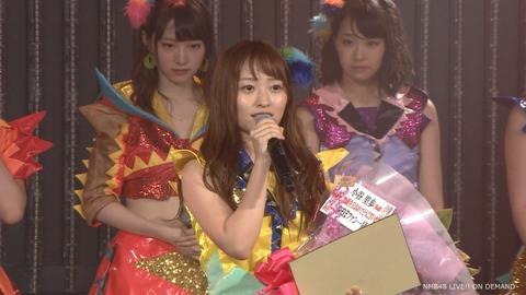 【悲報】NMB48小谷里歩卒業発表「夢に向かって新しいステージに進もうと決意しました」