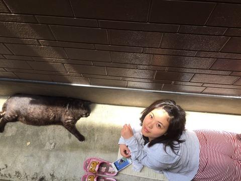 【悲報】元NMB48山口夕輝が猫と路上生活はじめる!?