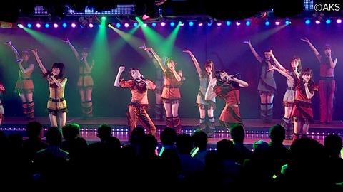 【AKB48G】劇場公演中に、トイレ行きたくなったらお前らどうするの?