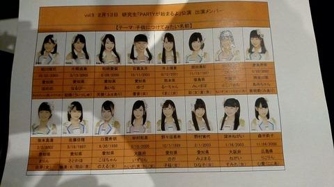 【SKE48】8期生が子供につけてみたい名前がキラキラ過ぎる・・・