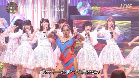 【AKB48】フライングゲットがキンタローセンターでクソワロタwwwwww