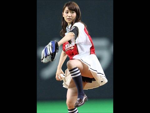大島優子の3番ショート感