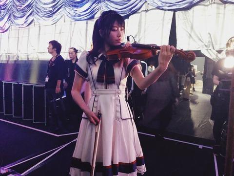 【AKB48】ゆいはんがバイオリンで情熱大陸のテーマを見事に弾いてたのに話題になってなくて辛いんだが【横山由依】