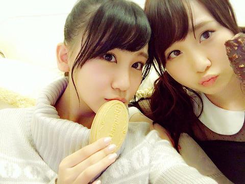 【AKB48】高橋朱里「こじまこが足痒いらしいよw」