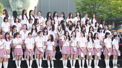【画像】身長151cmのみくりんが韓国アイドルと並んだ結果www【HKT48・田中美久】