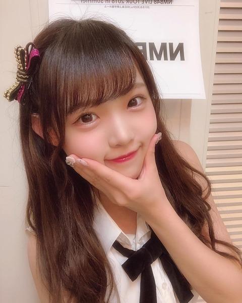 【NMB48】植村梓「きみの中でわたしが1番可愛いって思われないと嫌だし、今までもこれからも1番好きじゃないと嫌」
