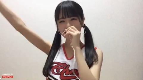 【STU48】中村舞ちゃんのチアコスプレ配信が大好評!!!【美脇】