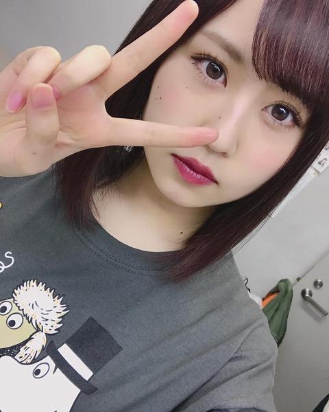 【NMB48】古賀成美、顔のホクロ多すぎ問題