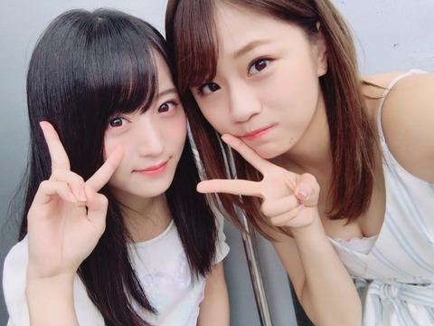 【AKB48】卒業前に突然可愛くなった島田が谷間大サービスwww【島田晴香】