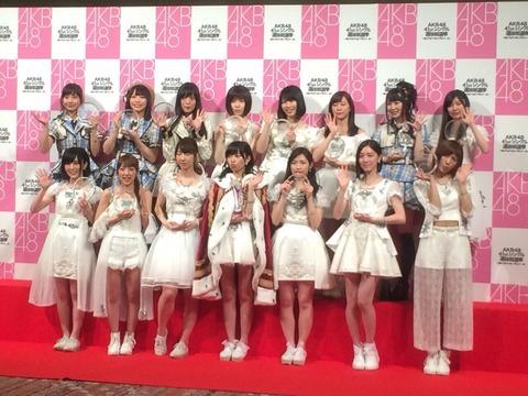 【AKB48総選挙】15歳以下のメンバーはもう出馬しない方がいいのでは?
