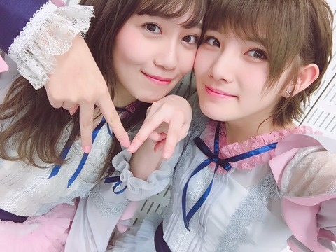 【AKB48】こじまこ「握手の列がガラガラだから奈々の列に遊びに行って奈々のファンの人と話してる」【小嶋真子・岡田奈々】