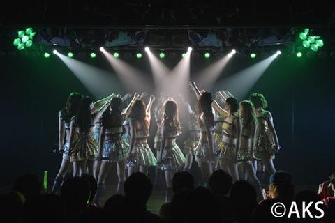 【AKB48】久しぶりに劇場公演当選したんだが