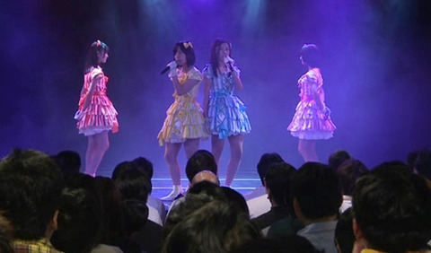 【AKB48G】ハゲが劇場公演に来てんじゃねぇよ!!!