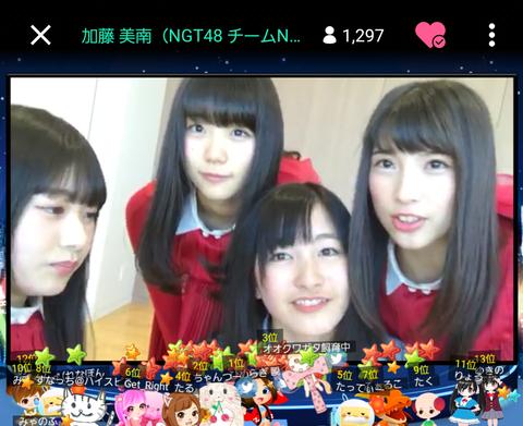 【SHOWROOM】NGT48がメジャーデビューへ向け全国各地からゲリラ配信