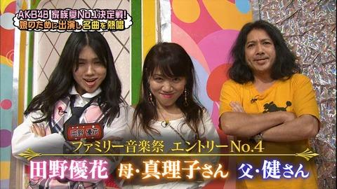 【AKBINGO】田野ちゃんのパパwwwwww【AKB48・田野優花】