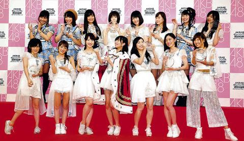 【AKB48総選挙】来年は上位3人不在で選挙やったら面白そう【指原莉乃・柏木由紀・渡辺麻友】