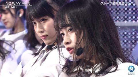 【朗報】AKB48横山結衣がMステで見つかる!!!